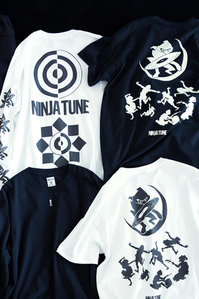 Sasquatchfabrix. x Ninja Tune x BEAMS Capsule Collection Collaboration Japanese British T-Shirts Trousers Longsleeves