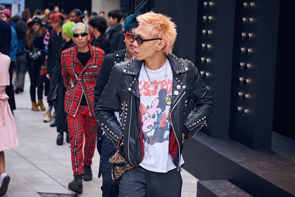 Street Style Seoul Fashion Week Fall Winter 2018 South Korea