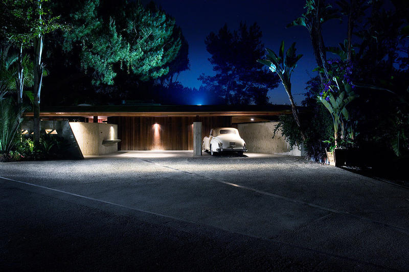 The Big Lebowski Porno house Sheats-Goldstein House John Lautner Los Angeles Home Architecture