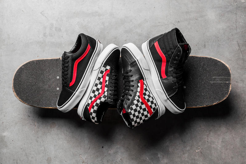 a8db033413 Vans Shoe Palace 25th Anniversary footwear Old Skool Sk8 Hi march 24 release  date info drop