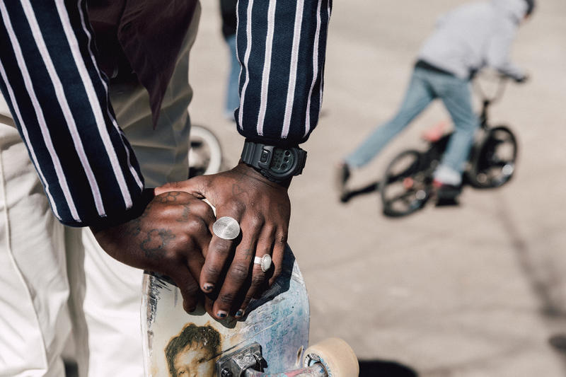 Keith Hardy x G-Shock DW6900 Spring 2018 Lookbook, watches, skate, military