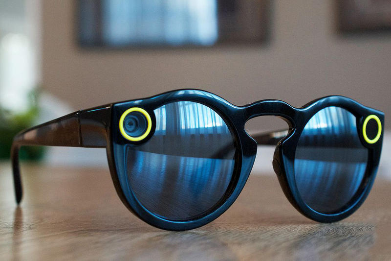 Snap Spectacles Snapchat tech Warby Parker Luxottica Glasses Wearable Tech