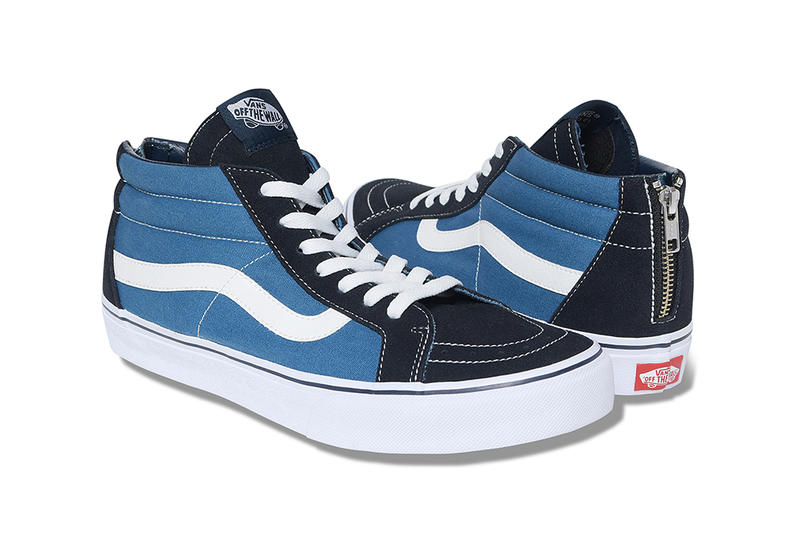 SOPHNET. Vans Sk8-Mid Zip-up Apparel footwear sneakers skateboarding skate shoes Off The Wall