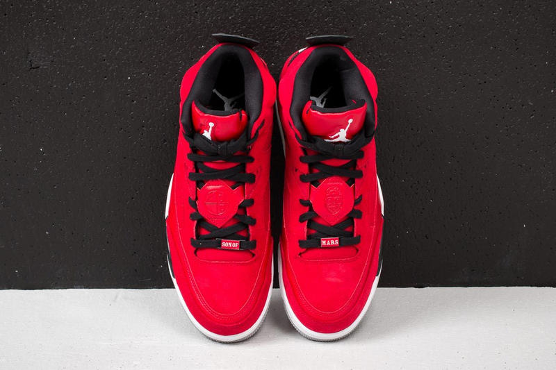 Spike Lee Air Jordan Son Of Mars Low Gym Red White Black Wolf Grey