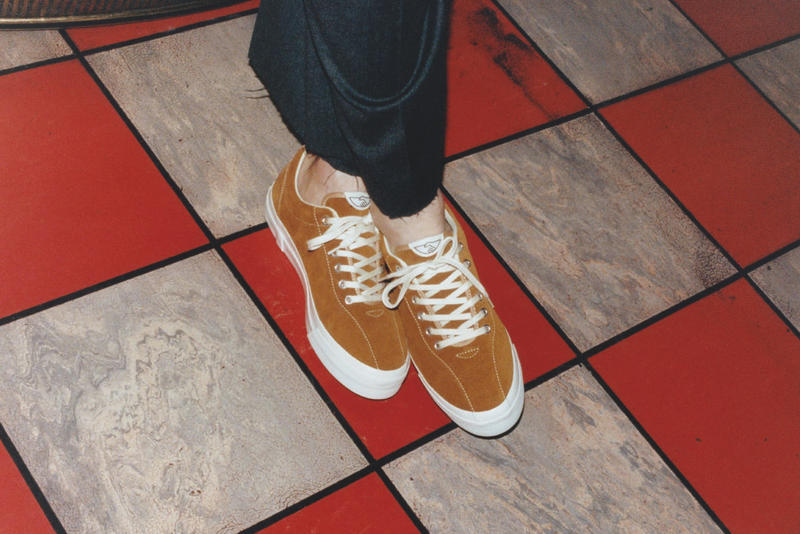 Stepney Workers Club Footwear Sneakers Canvas Suede Vans Release Information Launch Details interview Simon See Roger Pereira Alex McLeish