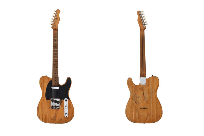 Stevie Ray Vaughan 951 Fender Broadcaster guitar heritage auctions sale