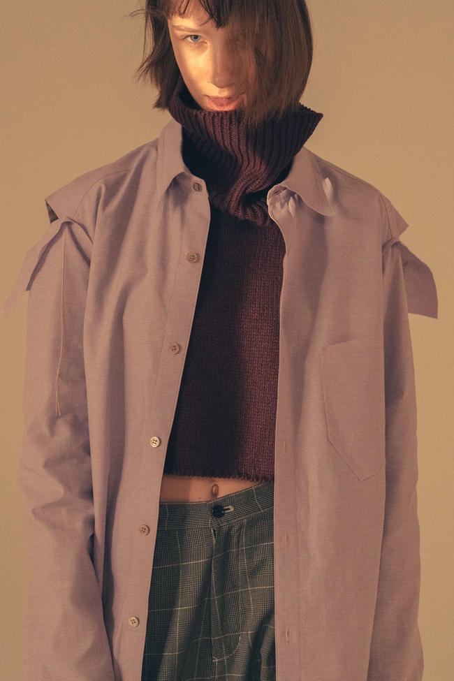 sulvam Fall Winter 2018 Collection Lookbook Teppei Fujita shirts trousers jackets