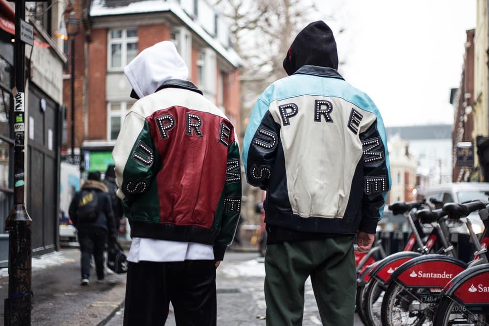 Supreme Spring/Summer 2018 Streetsnaps Drop 2 Street Style London Soho Store