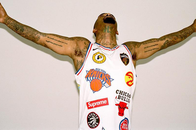new style 983f8 cc953 Supreme x Nike x NBA Logo Jersey Collaboration | HYPEBEAST