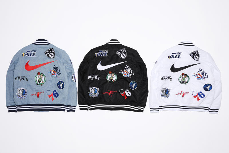 supreme NBA Collection Collaboration 2018 JR Smith Nike AF-1 Air Force 1 footwear streetwear New York