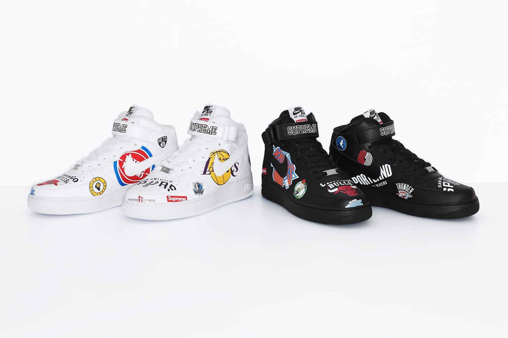 supreme NBA Collection Collaboration