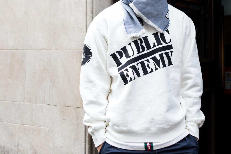 c139eb964ff8 Street Style Supreme x UNDERCOVER x Public Enemy | HYPEBEAST