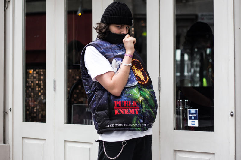 Street Style Supreme X Undercover