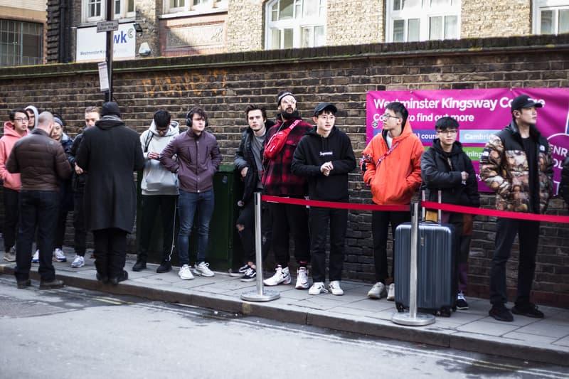 Supreme Spring/Summer 2018 Streetsnaps Drop 3 Street Style London Soho Store Lance Walsh