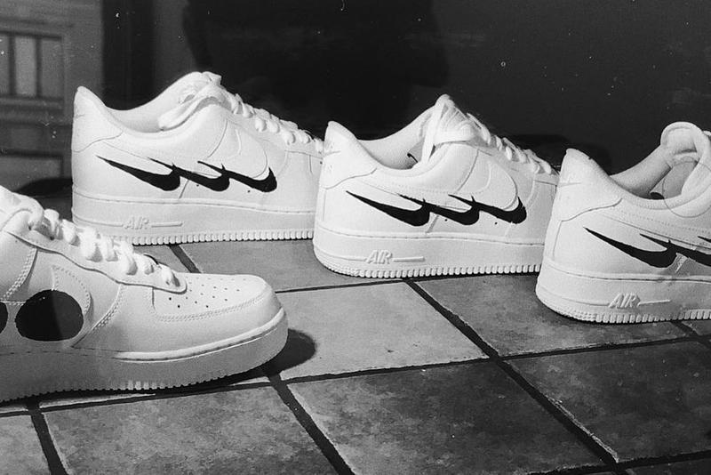 Swedish House Mafia Virgil Abloh Nike Merchandise air force 1 t shirt hoodie collaboration march 25 2018 3 april 2 drop release info look