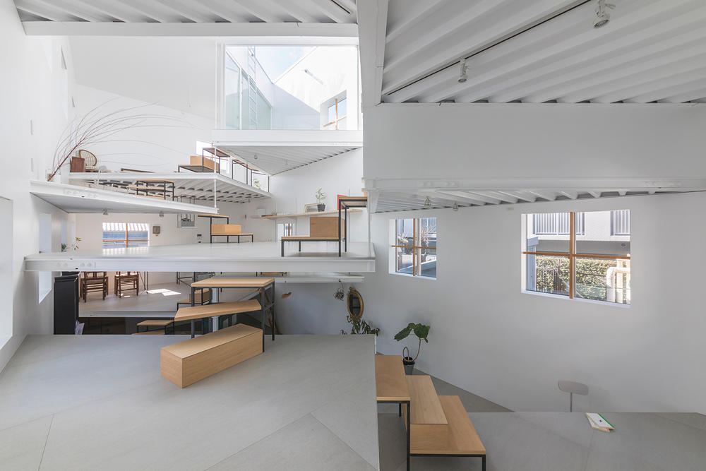 Tato Architects multi level design architecture home living