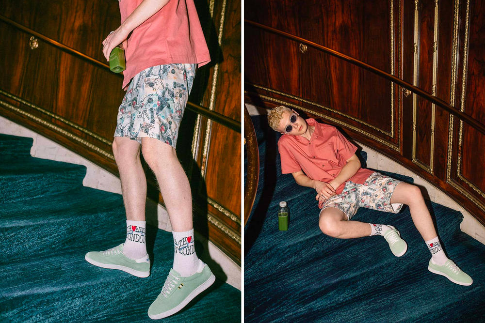 Thames Spring Summer 2018 Collection Editorial Notre release shirts shorts hoodies