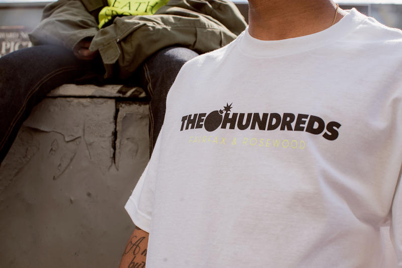 The Hundreds Opens New Los Angeles Flagship Store 2018 March 1 rosewood limited edition capsule collection drop release spring