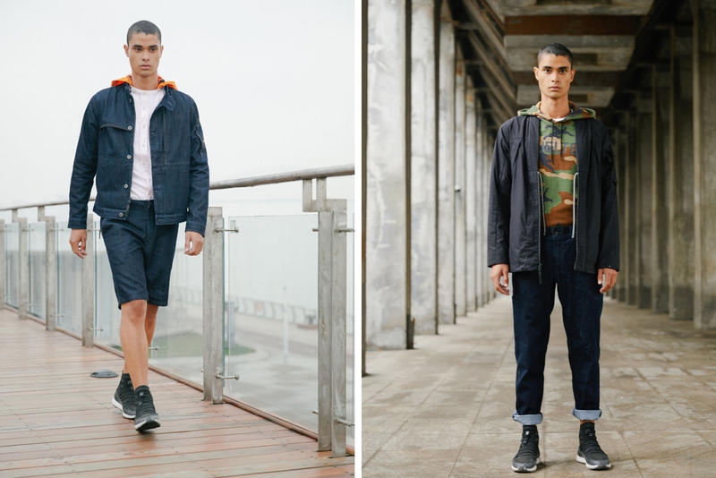 The North Face Urban Exploration Spring Summer 2018 Tech Denim Collection Lookbook