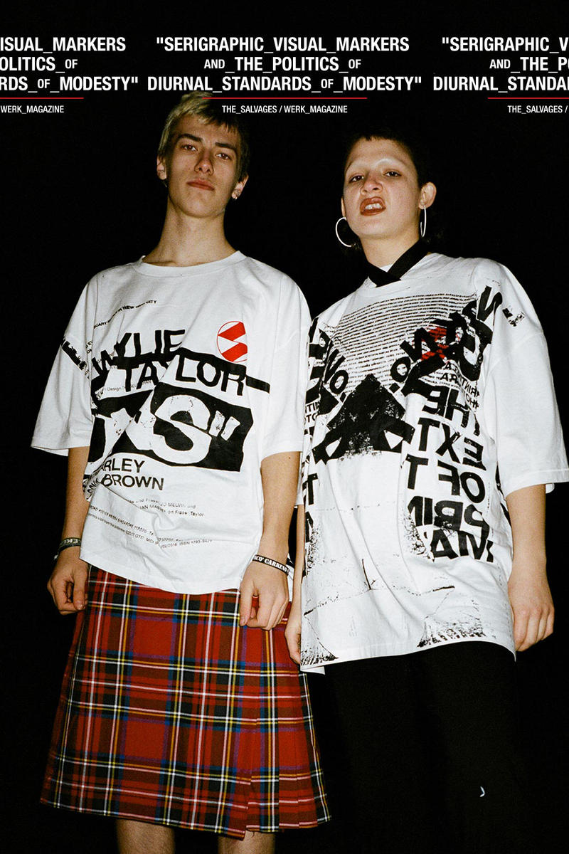 The Salvages Werk Magazine DSMS Dover Street Market Singapore Launch Tshirts Tees Capsule