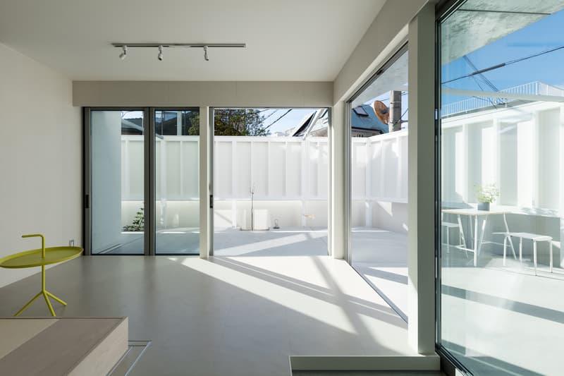 nLDK Architects Hey House Japan Nara Kawanishi Outdoor Garden