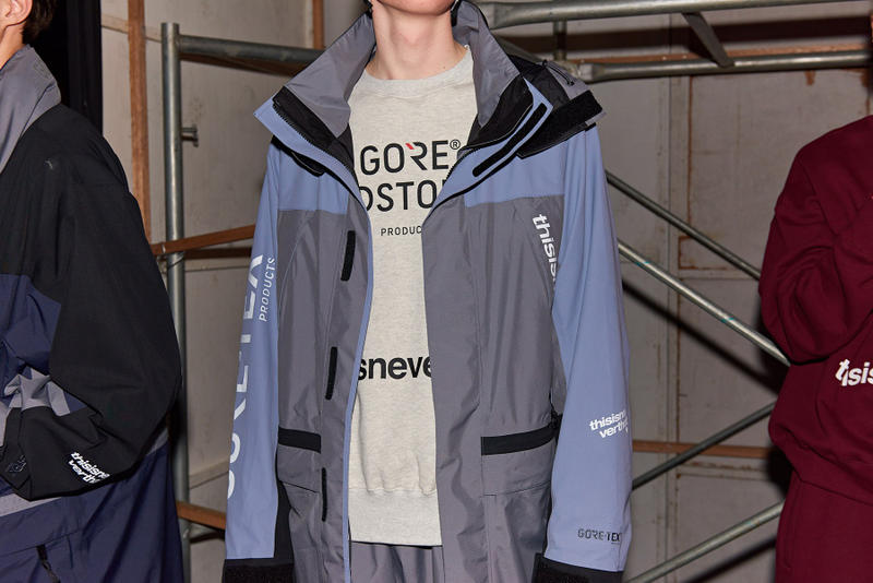 thisisneverthat Fall/Winter 2018 Runway Show Backstage Seoul Fashion Week