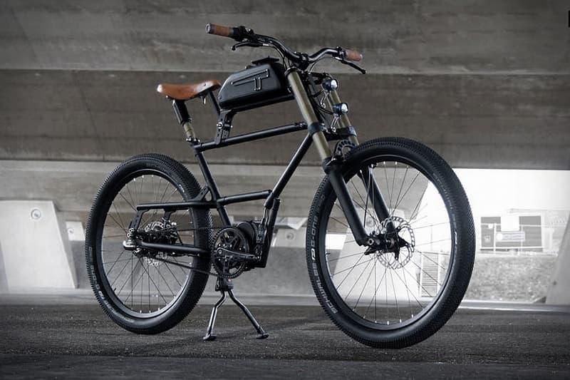 Timmermans Fietsen Scrambler E-Bike V2.0 Custom Motorcycle Motorbikes Marzocchi