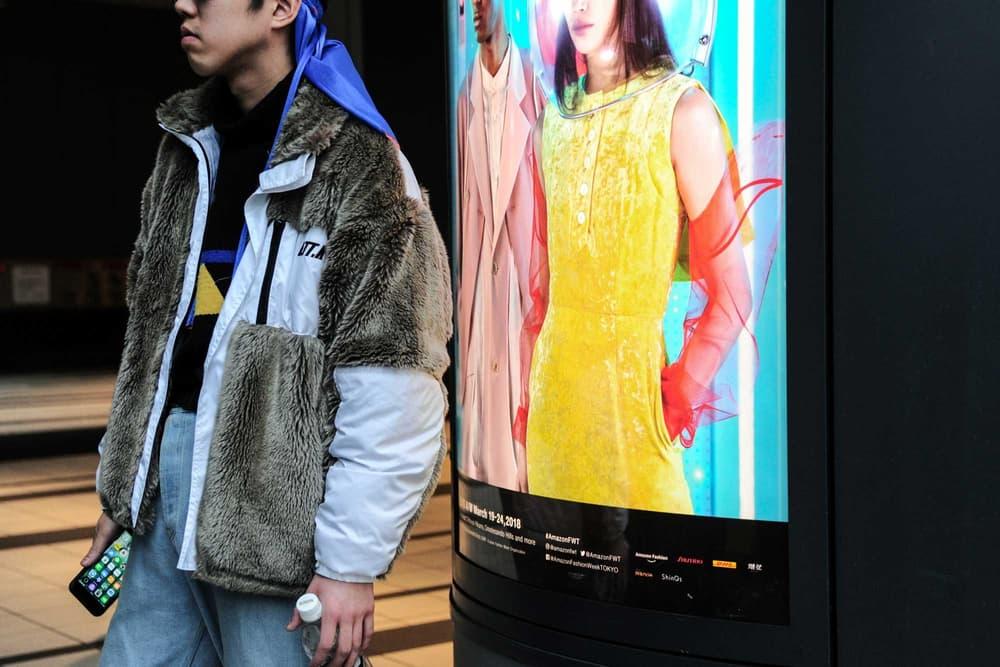 Tokyo Fashion Week Street Style 2018 Fall/Winter Gucci Gosha Rubchinskiy Helmut Lang Maison Margiela streetsnaps streetstyle street snaps