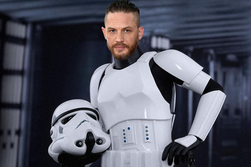 Tom Hardy Star Wars the last jedi deleted scene