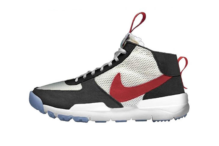 Tom Sachs x Nike Mars Yard Mid tease rumor surface appear image leak sneaker shoe footwear news collaboration drop release 2.0 september 2018 White Sport Red Black Cobalt Bliss