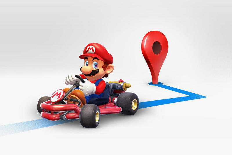 Google Maps Mario Kart Day