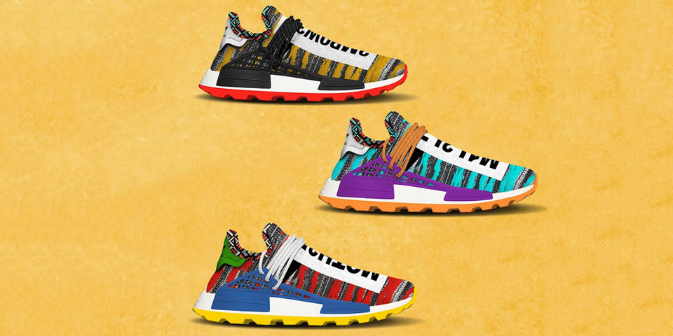 ee2692cd3 Pharrell x adidas Afro NMD Hu Pack Release
