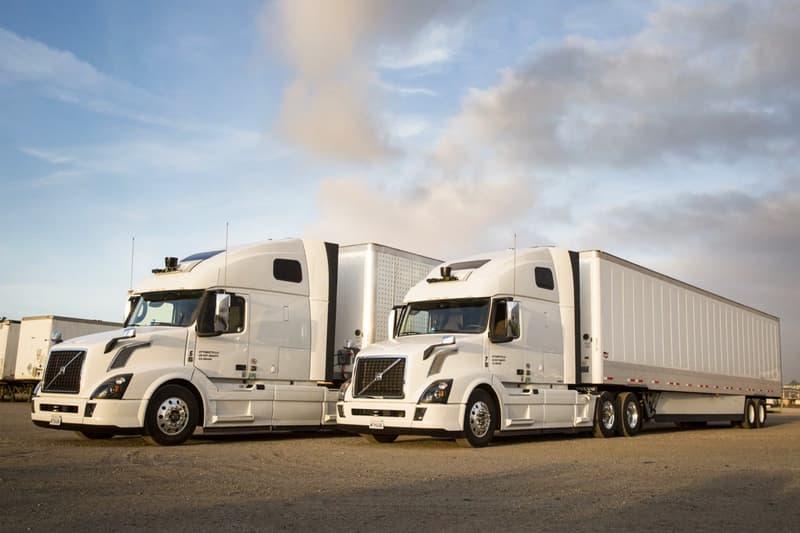 Uber Self-Driving Trucks Arizona Highways Uber freight