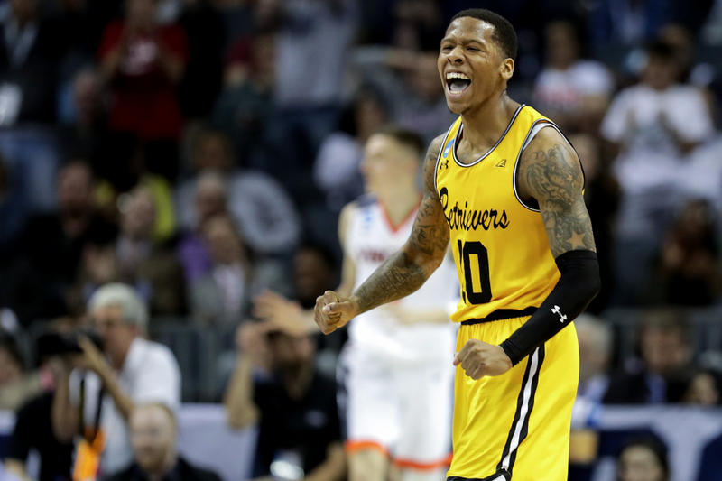 umbc University of Maryland Baltimore County Virginia game win beat no 16 1 seed first ncaa basketball tournament march madness Jairus Lyles