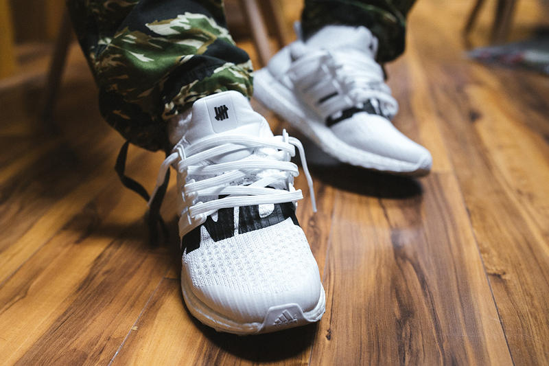 739916620 UNDEFEATED UNDFTD adidas UltraBOOST White 5 Strike Eric Peng Cheng Teaser  First Look On Feet Closer