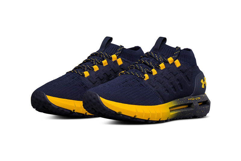 Under Armour HOVR Phantom Team Pack Colorways Red Blue Navy Shoes Sneakers March Madness NCAA Maryland Wisconsin Auburn Notre Dame Cal UCLA