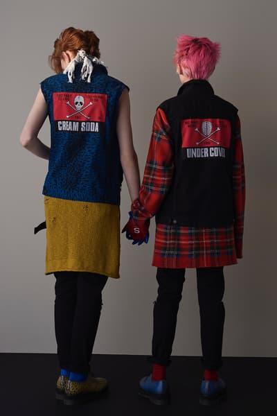 UNDERCOVER x Cream Soda Collaboration Collection Dropping March 24 Harajuku Jun Takahashi collaboration lookbook punk fashion streetwear