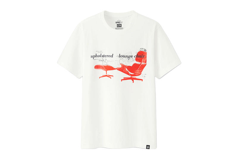 Uniqlo SPRZ NY Eames Spring Summer 2018 Collection charles ray eames graphic t-shirt price