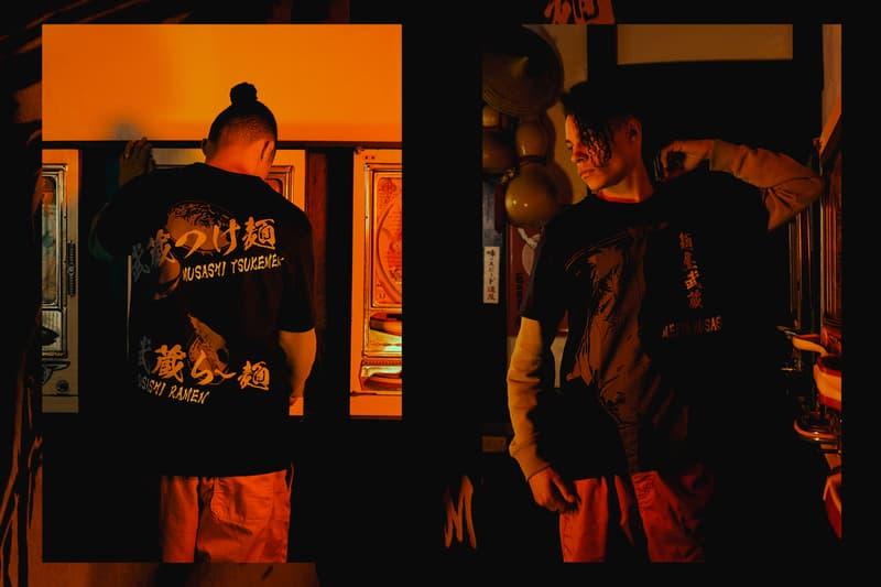 UNIQLO Ramen Collection Lookbook new york japan kenka food restaurant noodle soup graphic tees shirts t-shirt Afuri Ebisoba Ichigen Menya Musashi Setagaya Ippudo Hokkaido Ramen Santouka