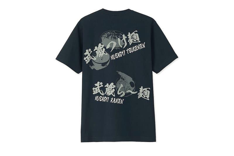Uniqlo UT Ramen Capsule Collection Afuri Ebisoba Ichigen Menya Musashi Setagaya Ippudo Hokkaido Santouka
