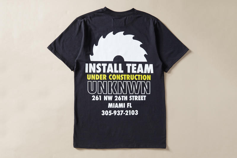 UNKNWN New York Sunshine Install Team T-Shirt Collection Nike Air Max Day Installation Graphic Tee Miami