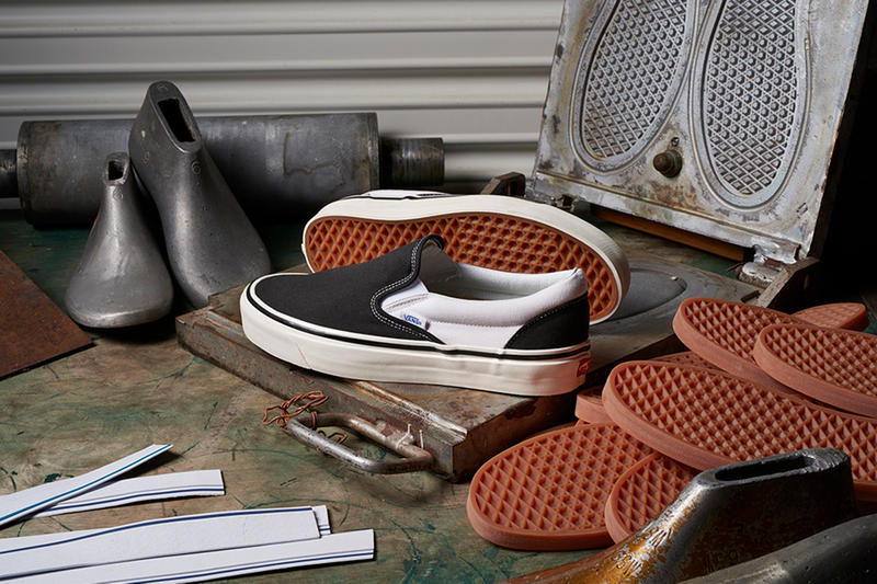 Vans Spring/Summer 2018 Anaheim Slip-On Sk8 Hi Authentic Old Skool 47 Mid Skool 37 sneakers skateboarding beaters skate sneakers footwear release details information