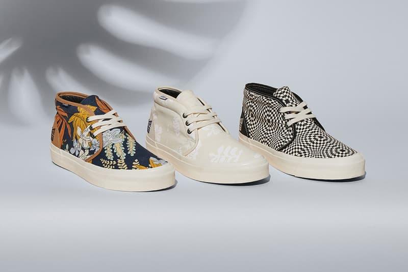 3dacd6be912a taka hayashi vans vault footwear shoes sneakers sk8-hi 75 lx chukka 75 lx  classc