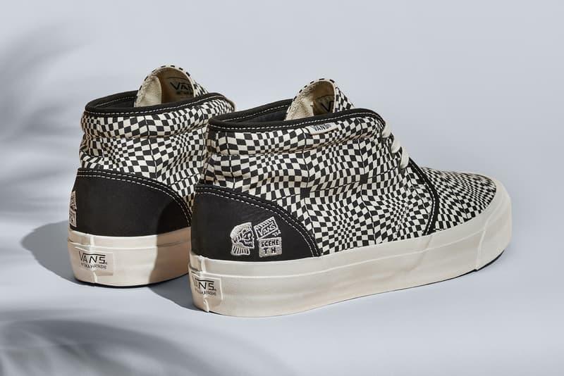 5edc6265800e91 taka hayashi vans vault footwear shoes sneakers sk8-hi 75 lx chukka 75 lx  classc