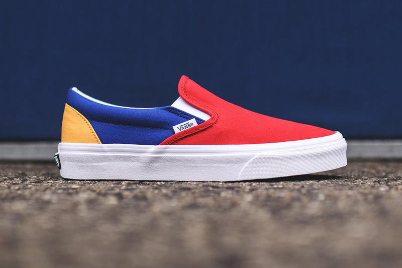 vans yacht club footwear pack old skool slip on skateboarding shoes sneakers kith