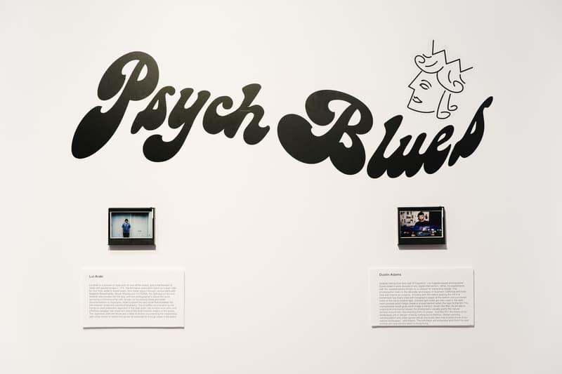 VICTORIA Psych Blues Photo Exhibition Lui Araki
