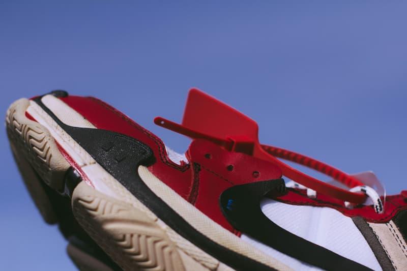 air jordan 1 balenciaga triple s sneaker sole swap custom sneaker footwear bespoke