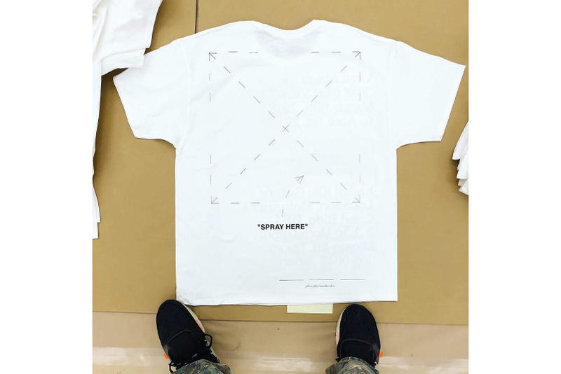 "Virgil Abloh Off-White ""PAY PER VIEW"" Champion T-Shirts Exhibition Kai Kai Kiki Bar Zingaro Takeshi Murakami"