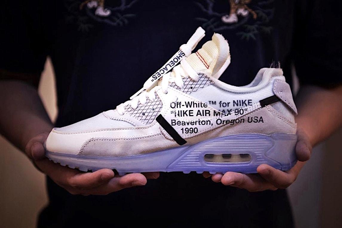 Virgil Abloh X Nike Air Max 90 Grey Colorway Hypebeast
