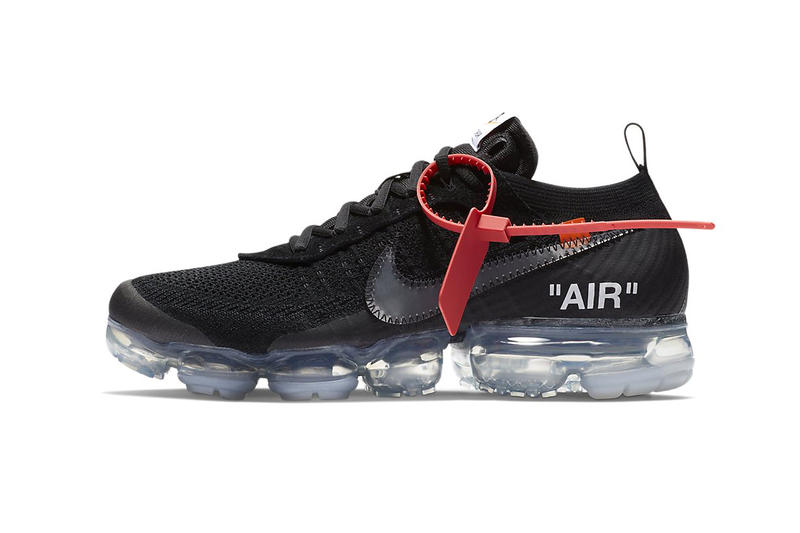 Virgil Abloh Nike Air VaporMax Official Images Off White footwear march 2018 release date nike sportswear